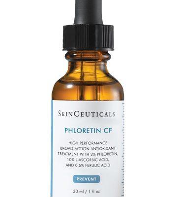 Phloretin CF is a patented daytime vitamin c antioxidant face serum