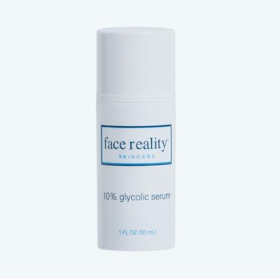 Glycolic Serum helps improve the appearance of skin tone and texture