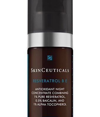 Resveratrol B E is a first-of-its kind night treatment that combines a maximized concentration of 1% pure, stable resveratrol.