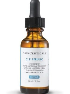 C E Ferulic is a patented daytime vitamin C serum that delivers advanced environmental protection and improves the skin's complexion.
