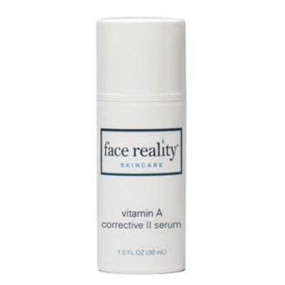 Vitamin A Corrective II Serum delivers a high potency Retinol (0.5%) over time which enhances effectiveness.