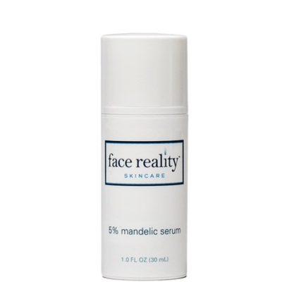 Mandelic Serum 5% exfoliates and lightens hyperpigmentation
